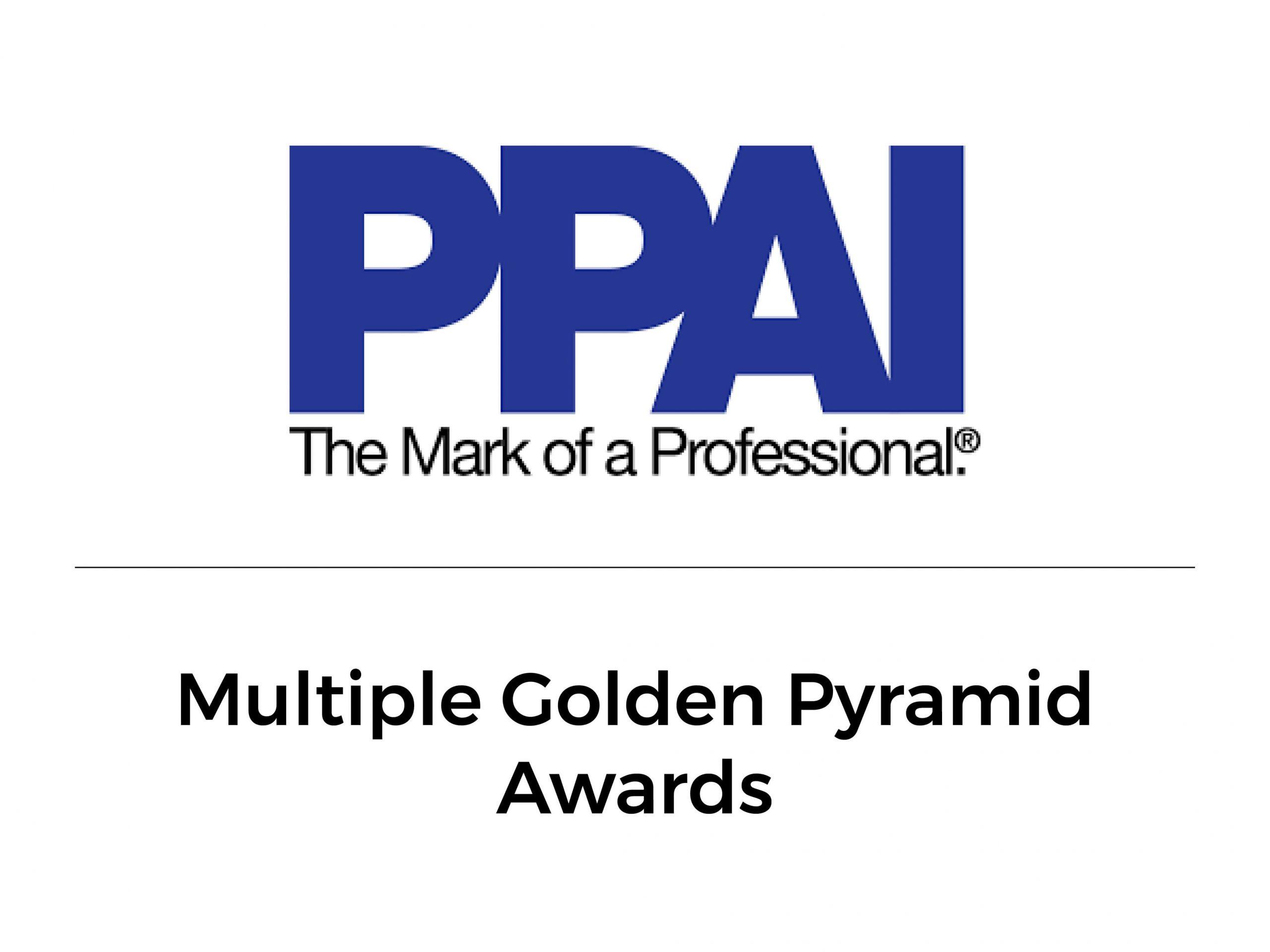PPAI Multiple Golden Pyramid Awards